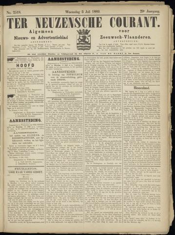 Ter Neuzensche Courant. Algemeen Nieuws- en Advertentieblad voor Zeeuwsch-Vlaanderen / Neuzensche Courant ... (idem) / (Algemeen) nieuws en advertentieblad voor Zeeuwsch-Vlaanderen 1889-07-03
