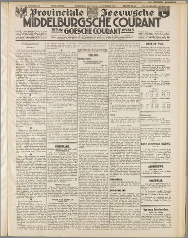 Middelburgsche Courant 1934-10-10