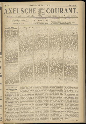 Axelsche Courant 1932-06-28