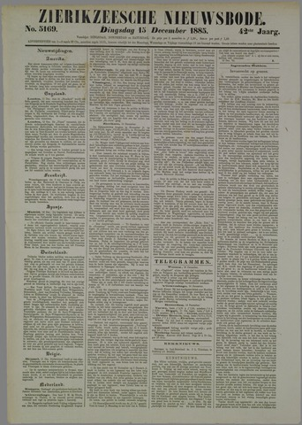 Zierikzeesche Nieuwsbode 1885-12-15