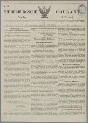 Middelburgsche Courant 1854-02-25