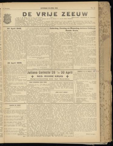 de Vrije Zeeuw 1945-04-28