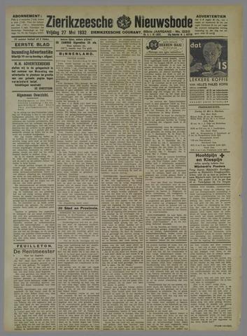 Zierikzeesche Nieuwsbode 1932-05-27