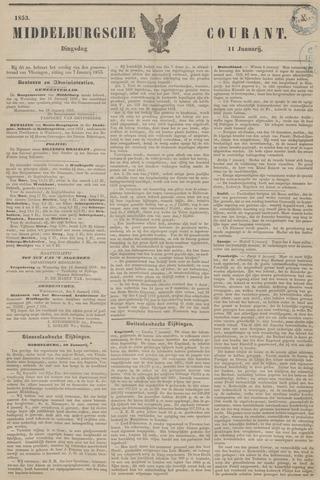 Middelburgsche Courant 1853-01-11