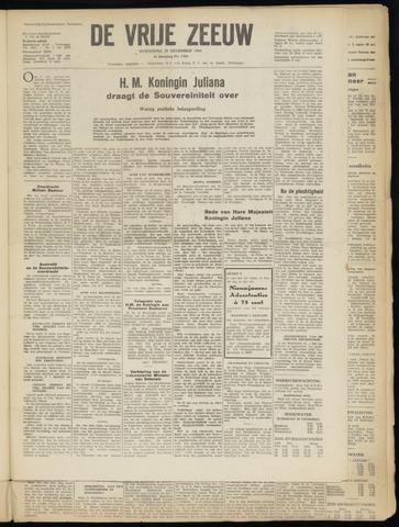 de Vrije Zeeuw 1949-12-28