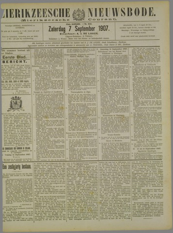 Zierikzeesche Nieuwsbode 1907-09-07