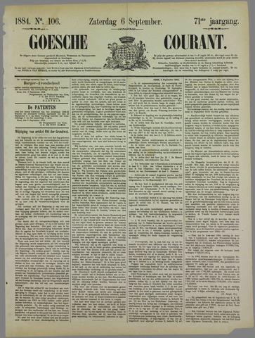 Goessche Courant 1884-09-06