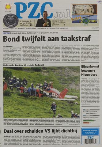 Provinciale Zeeuwse Courant 2011-08-01