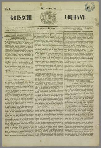 Goessche Courant 1855-01-11