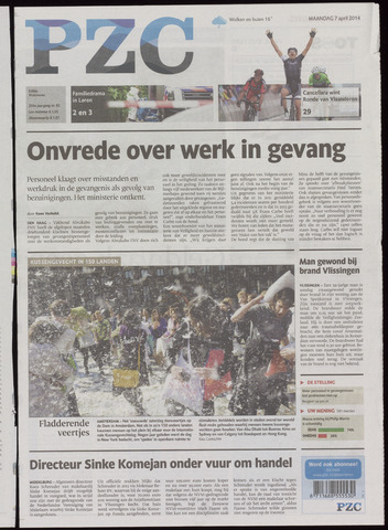 Provinciale Zeeuwse Courant 2014-04-07
