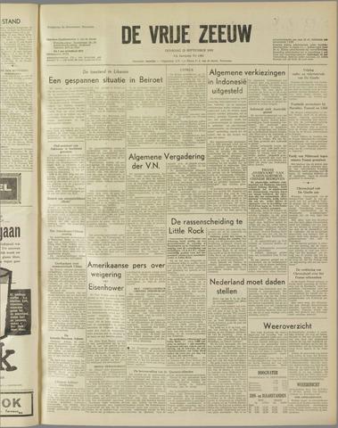 de Vrije Zeeuw 1958-09-23
