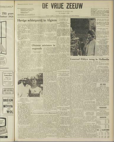 de Vrije Zeeuw 1962-08-30