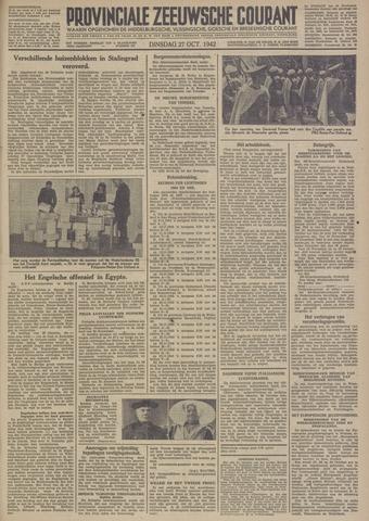 Provinciale Zeeuwse Courant 1942-10-27