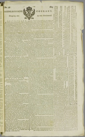 Middelburgsche Courant 1809-07-25