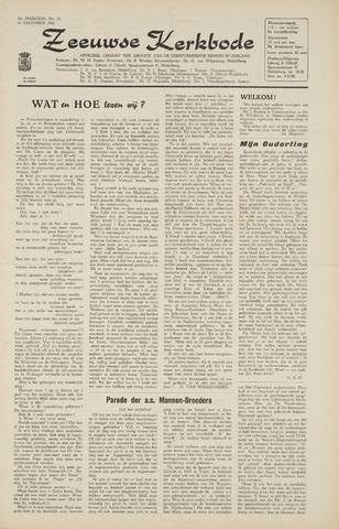 Zeeuwsche kerkbode, weekblad gewijd aan de belangen der gereformeerde kerken/ Zeeuwsch kerkblad 1965-12-10