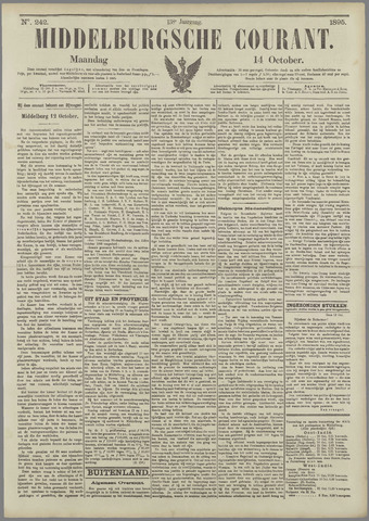Middelburgsche Courant 1895-10-14
