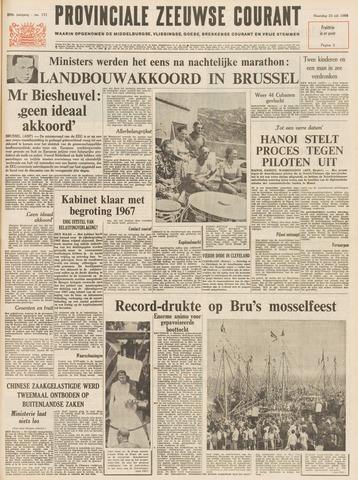 Provinciale Zeeuwse Courant 1966-07-25