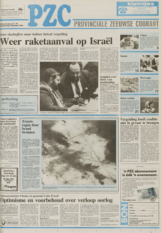 Provinciale Zeeuwse Courant 1991-01-24
