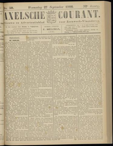 Axelsche Courant 1916-09-27