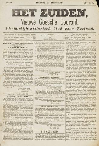 Het Zuiden, Christelijk-historisch blad 1880-12-21