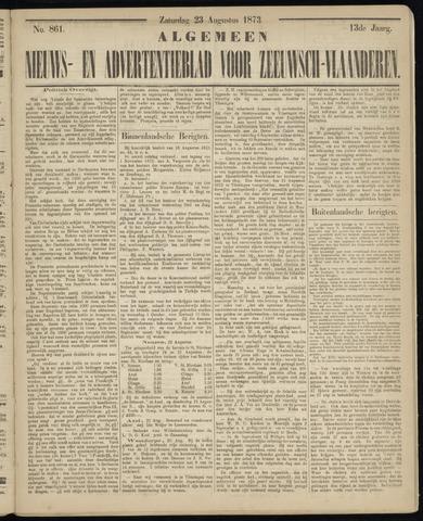 Ter Neuzensche Courant. Algemeen Nieuws- en Advertentieblad voor Zeeuwsch-Vlaanderen / Neuzensche Courant ... (idem) / (Algemeen) nieuws en advertentieblad voor Zeeuwsch-Vlaanderen 1873-08-23