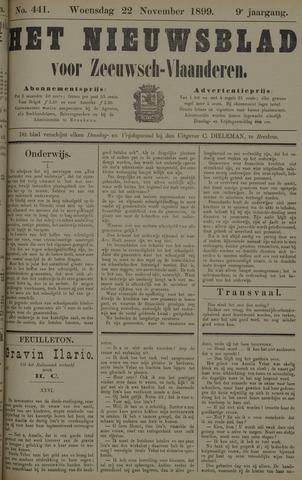 Nieuwsblad voor Zeeuwsch-Vlaanderen 1899-11-22