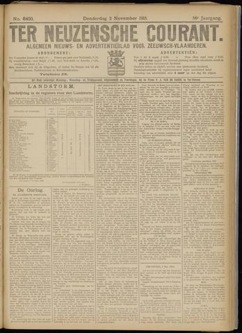 Ter Neuzensche Courant. Algemeen Nieuws- en Advertentieblad voor Zeeuwsch-Vlaanderen / Neuzensche Courant ... (idem) / (Algemeen) nieuws en advertentieblad voor Zeeuwsch-Vlaanderen 1916-11-02
