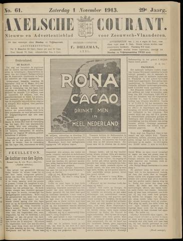 Axelsche Courant 1913-11-01