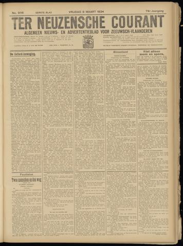 Ter Neuzensche Courant. Algemeen Nieuws- en Advertentieblad voor Zeeuwsch-Vlaanderen / Neuzensche Courant ... (idem) / (Algemeen) nieuws en advertentieblad voor Zeeuwsch-Vlaanderen 1934-03-09