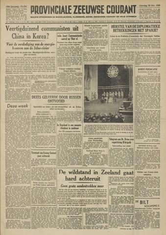Provinciale Zeeuwse Courant 1950-10-28