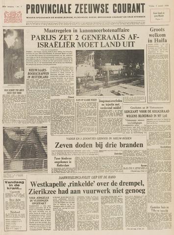 Provinciale Zeeuwse Courant 1970