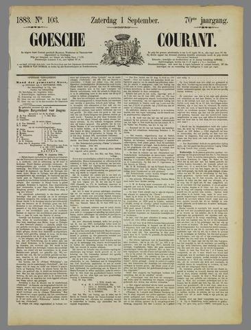 Goessche Courant 1883-09-01