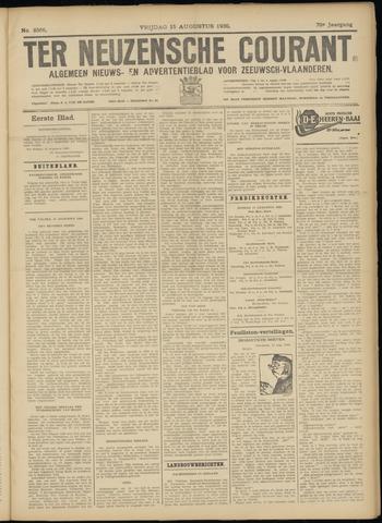 Ter Neuzensche Courant. Algemeen Nieuws- en Advertentieblad voor Zeeuwsch-Vlaanderen / Neuzensche Courant ... (idem) / (Algemeen) nieuws en advertentieblad voor Zeeuwsch-Vlaanderen 1930-08-15
