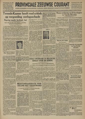 Provinciale Zeeuwse Courant 1949-10-26