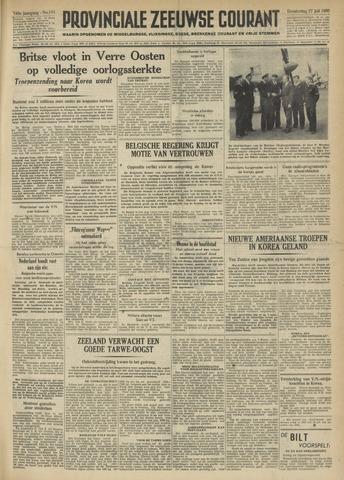 Provinciale Zeeuwse Courant 1950-07-27