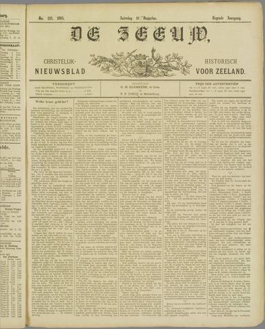 De Zeeuw. Christelijk-historisch nieuwsblad voor Zeeland 1895-08-10