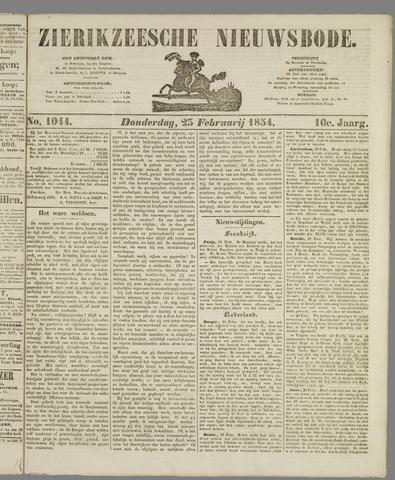 Zierikzeesche Nieuwsbode 1854-02-23