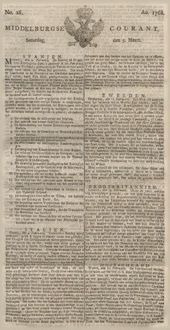 Middelburgsche Courant 1768-03-05