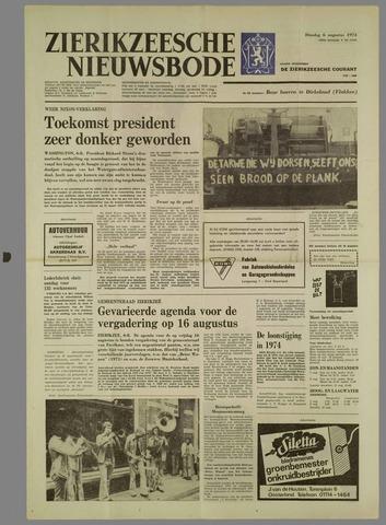 Zierikzeesche Nieuwsbode 1974-08-06