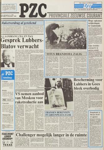 Provinciale Zeeuwse Courant 1985-11-04