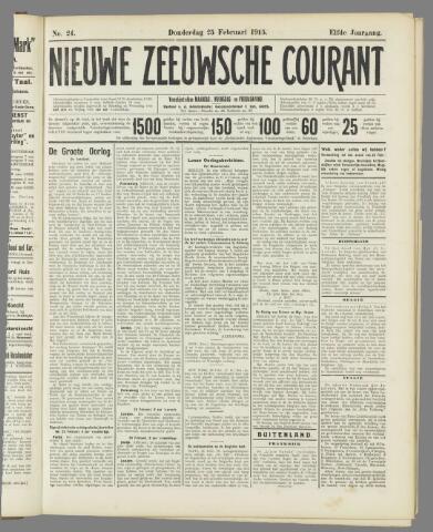Nieuwe Zeeuwsche Courant 1915-02-25