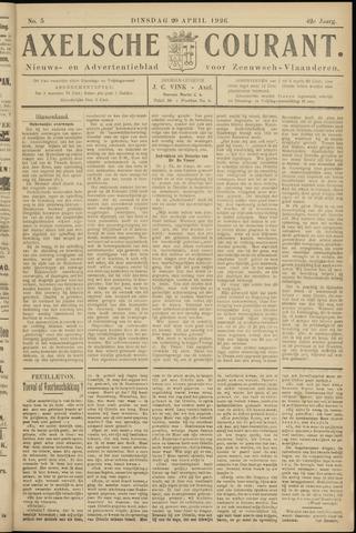 Axelsche Courant 1926-04-20