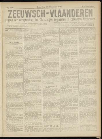 Luctor et Emergo. Antirevolutionair nieuws- en advertentieblad voor Zeeland / Zeeuwsch-Vlaanderen. Orgaan ter verspreiding van de christelijke beginselen in Zeeuwsch-Vlaanderen 1920-10-30
