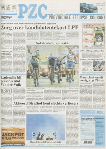 Provinciale Zeeuwse Courant 2002-07-15
