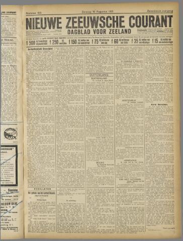 Nieuwe Zeeuwsche Courant 1921-08-16