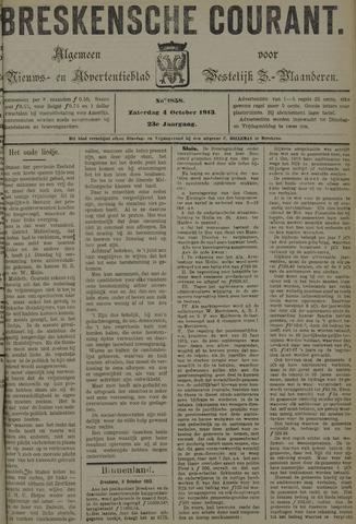 Breskensche Courant 1913-10-04