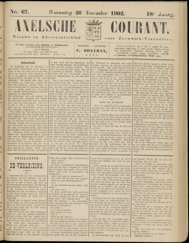 Axelsche Courant 1902-11-26
