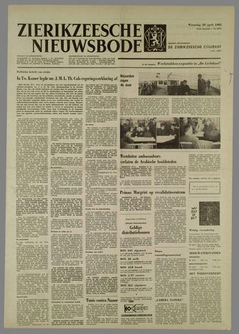 Zierikzeesche Nieuwsbode 1965-04-28