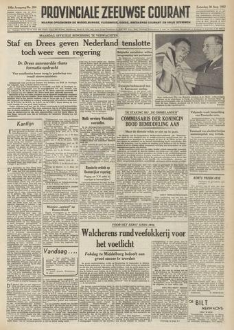 Provinciale Zeeuwse Courant 1952-08-30