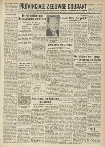 Provinciale Zeeuwse Courant 1947-12-17